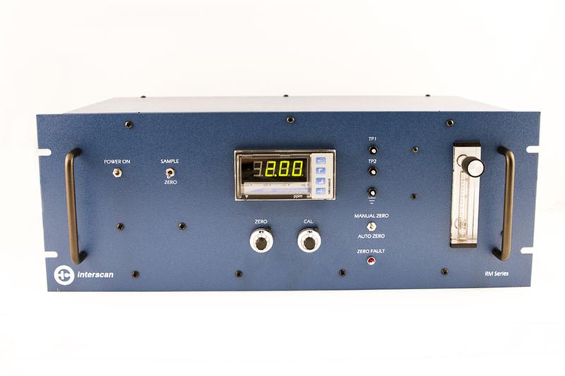 Máy đo, dò khí Interscan RM17-500m, RM17-200m, RM17-20.0m, RM17-1.00m Rack-mount Analyzers - RM Series - Hydrogen Sulfide