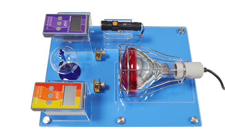 Bộ kiểm tra sự cách nhiệt, trong suốt của film, kính Linshang SK1250 Sales Kit
