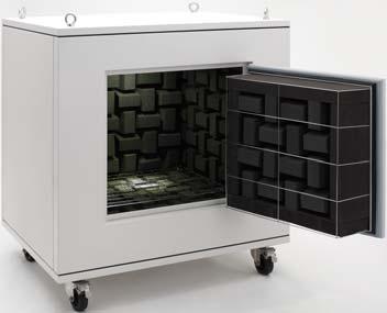 Tủ không tiếng vang Rion Anechoic Box (Compact Type) RK-SERIES