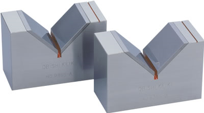 Precision V Block with Tungsten Carbide Obishi JB101, JB102, JB103, JB104, JB105