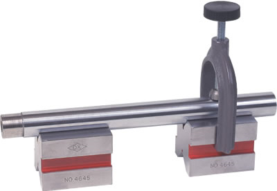 Hardened Steel V Block with Clamp Obishi JM101, JM102, JM103, JM104
