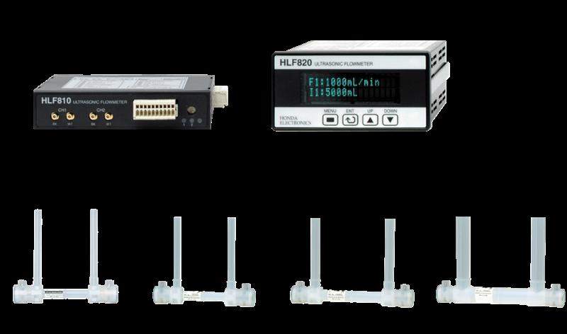 Máy đo lưu lượng siêu âm Honda Ultrasonic Flow meter, HLF800 series