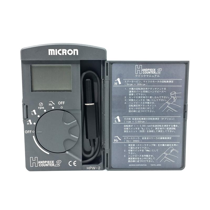 Máy đếm tốc độ vòng quay Handpiece Counter Micron HPW-2