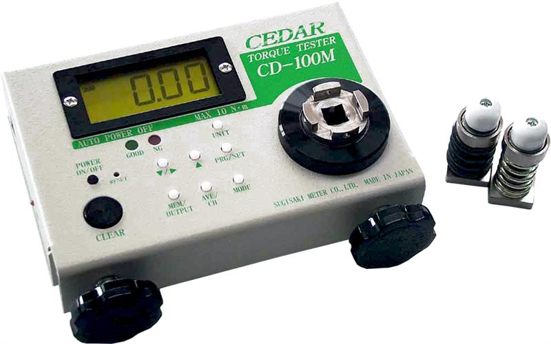Thiết bị đo lực momen xoắn Cedar Torque Meter model CD-100M, CD-10M
