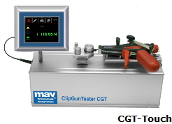Máy đo lực căng MAV Pruftechnics Clip Gun Tester model CGT-TOUCH 50