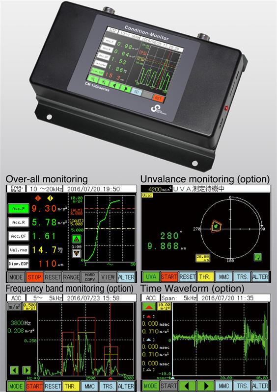 Máy đo cân bằng Sigma CM-1001 Condition monitor CM-1001