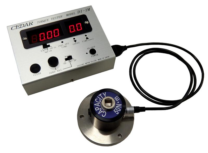 Thiết bị đo lực momen xoắn Cedar Torque Meter model DI-1M-IP50, DI-1M-IP200, DI-1M-IP500