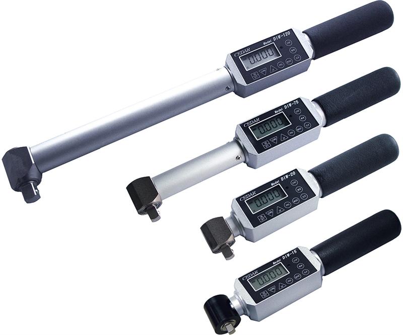 Thiết bị đo lực momen xoắn Cedar Digital Torque Wrench  model DIW-15, DIW-20, DIW-75, DIW-120