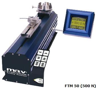 Máy đo lực căng MAV Pruftechnics Motorized Tester model FTM 5, FTM 10, FTM 25, FTM 50, FTM 100, FTM 200, FTM 500, FTM 1000