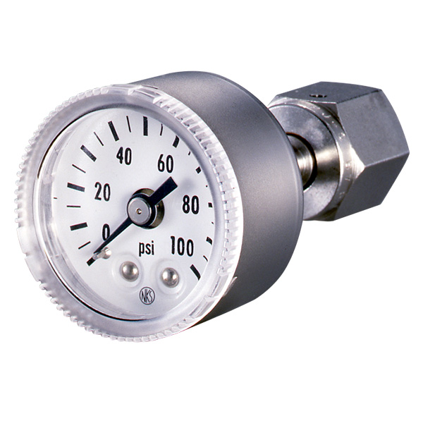 Đồng hò đo áp suất Nagano Keiki GW35/GW45 Pressure Gauge for Semiconductor Industry