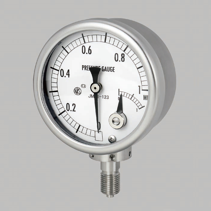 Đồng hò đo áp suất Nagano Keiki  model  JM71 Pressure Gauge With Electric Contact (Micro Switch Type)