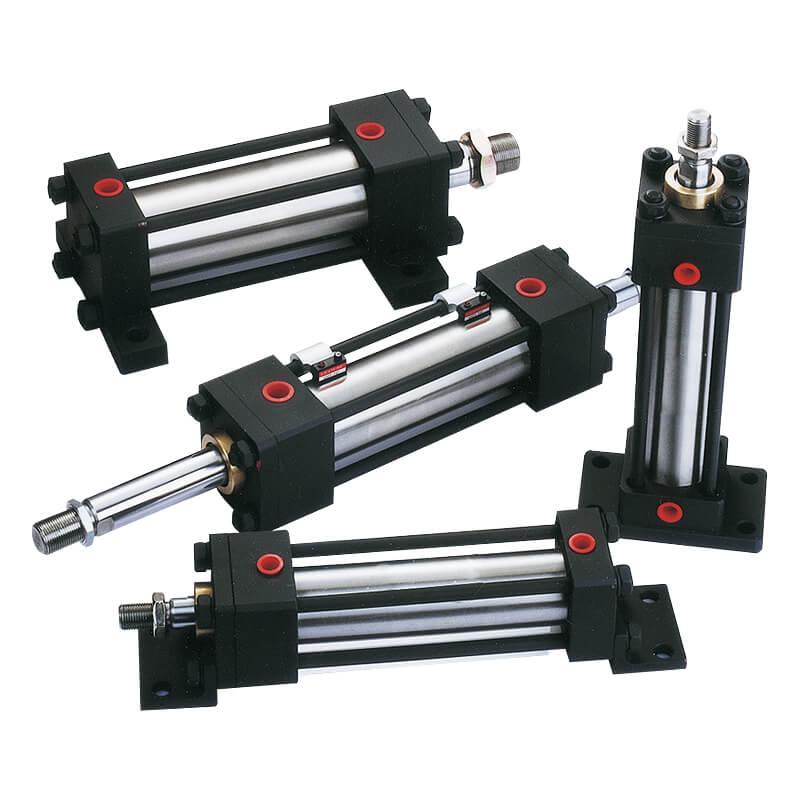 Hydraulic with piston sensing cylinder Mindman MDM