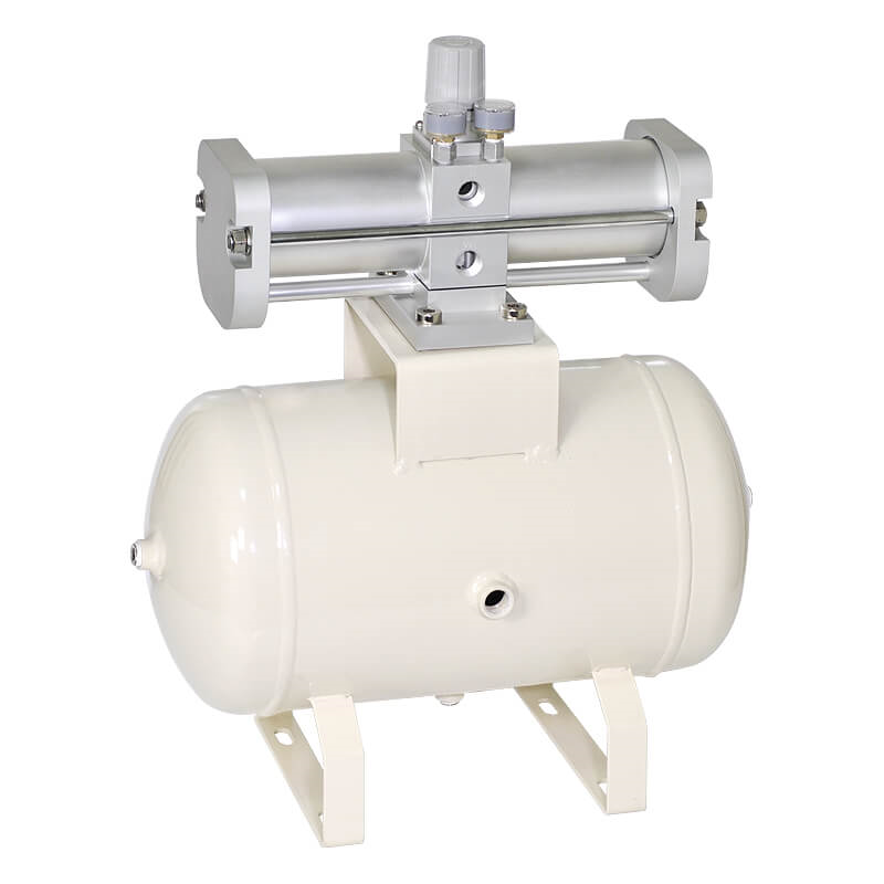 Booster regulator with air tank Mindman MVBAT