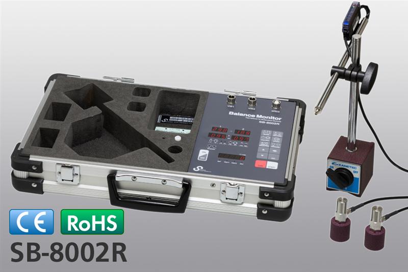 Máy đo cân bằng động cơ Sigma SB-8002R , SB-8002RB, SB-8002RGB Balance Monitor