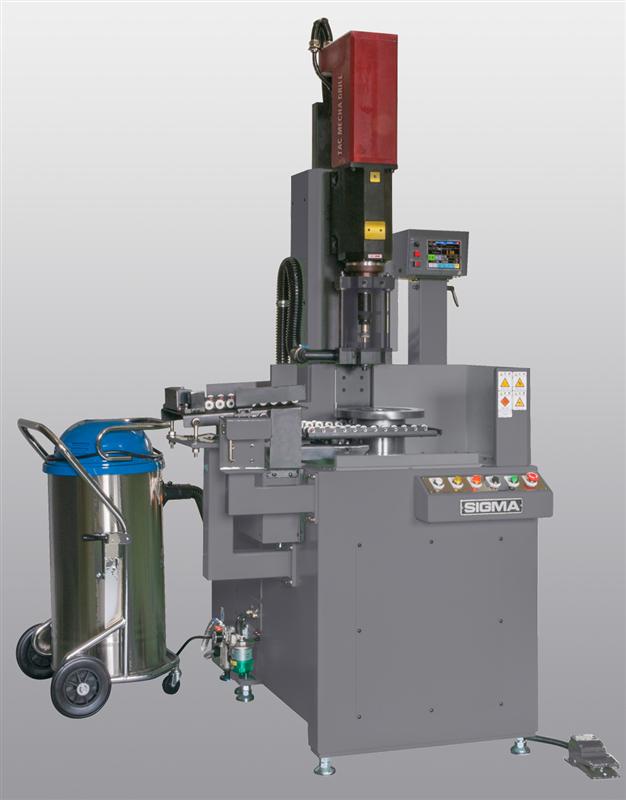 Máy đo cân bằng Sigma Vertical 1-plane balancing machine with drill-correction and unloader SHV-5110AU