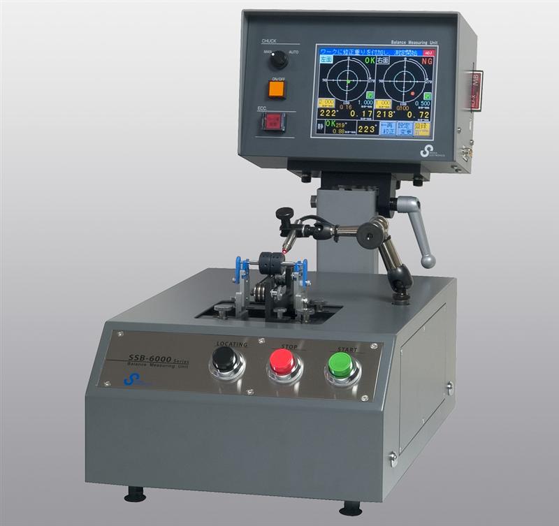 Máy đo cân bằng Sigma Horizontal 1 and 2 plane Balancing Machine SSB-60001A