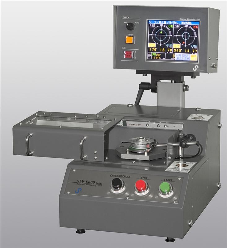 Máy đo cân bằng Sigma SSV2-58001A, SSV2-58004A Vertical 2-plane Balancing Machine for self-driven work