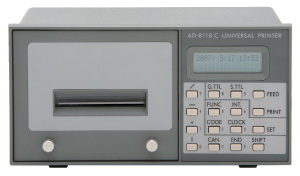 AD-8118C AD-8118C UNIVERSAL PRINTER
