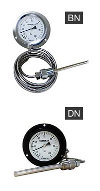 ASK Steam pressure type remote indicating thermometer BN/DN