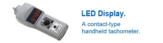 Máy đo tốc độ vòng quay Handheld Tachometer with an LED Display Shimpo DT-107A