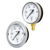 Đồng hò đo áp suất Nagano Keiki   Model No. GS5□ Ordinary Pressure Gauges (Silver M)