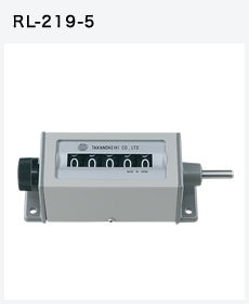 Bộ đếm Mechanical Counter Togoshi RL-219-4, RL-219-5