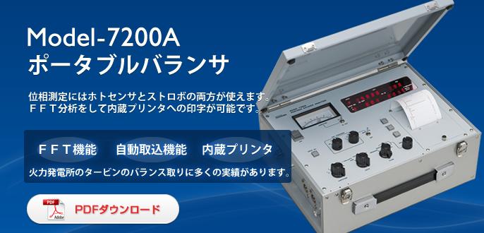 Máy cân bằng động Showa Sokki Model-200A