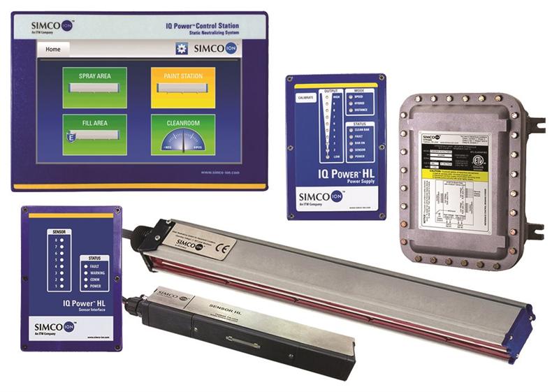 Hệ thông khử ion Simco IQ Power HL Neutralizing System