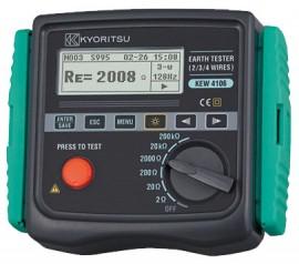Thiết bị đo điện trở - Điện trở xuất của đất Kyoritsu 4106