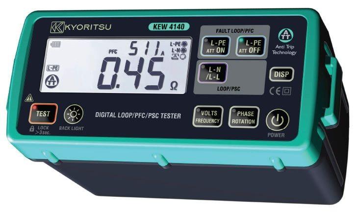 Thiết bị đo điện trở - Điện trở xuất của đất Kyoritsu 4140