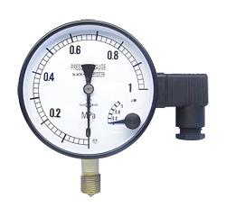Đồng hồ đo áp suất ASK Pressure gauge with micro-contacts MEPG-BU-G-100, MEPG-DU-G-100