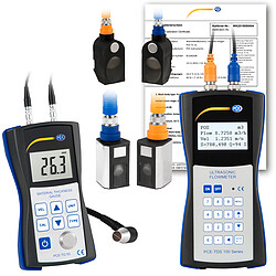 Ultrasonic Flow Meter Kit PCE-TDS 100HSH