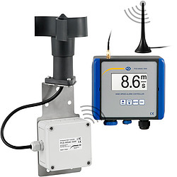 Wind Speed Alarm Controller PCE-WSAC 50W 24