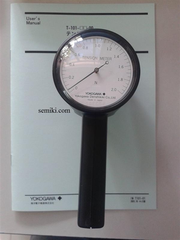Máy đo lực căng dây Yokogawa T-101-50-10 ( 0-500g), Yokogawa T-102-1-10 ( 0-1kg), Yokogawa T-102-2-10 ( 0-2kg)