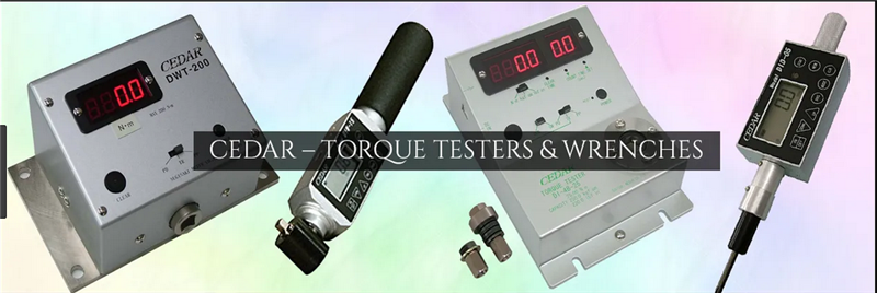 CEDAR TORQUE MEASURING EQUIPMENT