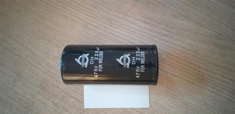 Tụ điện Samyoung cho máy hàn, DH 475V, 225 µF