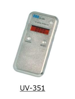 Máy đo tia cực tím ORC UV-351