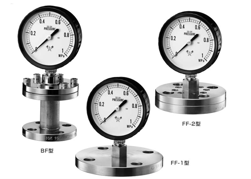 Đồng hồ đo áp suât Migishita