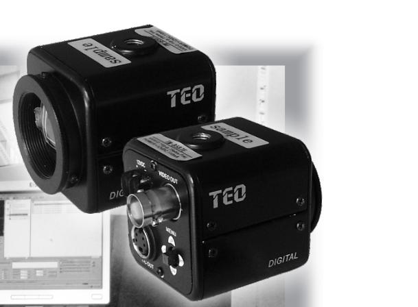 Mini industrial grade monochrome camera TM-B587E/TM-B588E