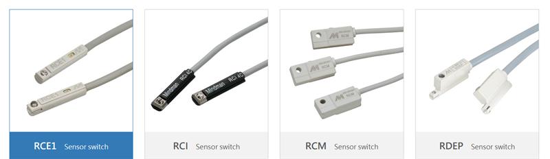 Cảm biến Sensor switch Mindman RCE1, RCI, RCM, RDEP