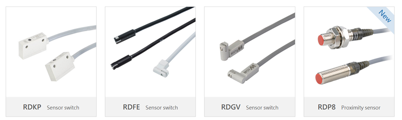 Cảm biến Sensor switch Mindman RDKP, RDFE, RDGV, RDP8