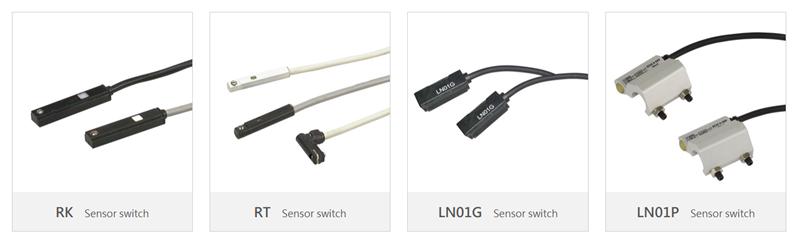 Cảm biến Sensor switch Mindman RK, RT, LN01G, LN01P