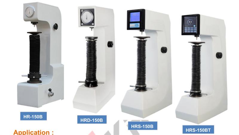 Máy đo độ cứng HR Rockwell Hardness Tester HR-150B, HRD-150B, HRS-150B, HRS-150BT