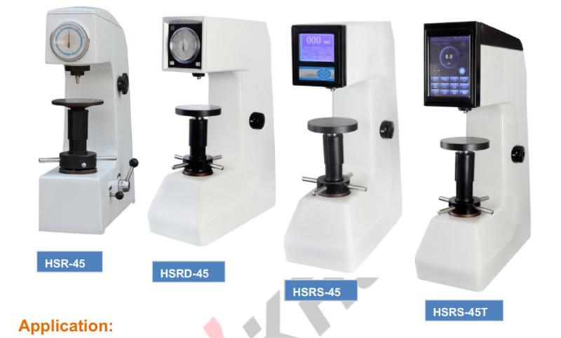 Máy đo độ cứng HR Rockwell Hardness Tester HSR-45, HSRD-45, HSRS-45, HSRS-45T