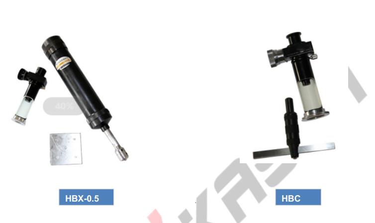 Máy đo độ cứng cầm tay Portable Brinell Hardness Tester HBX-0.5, HBC
